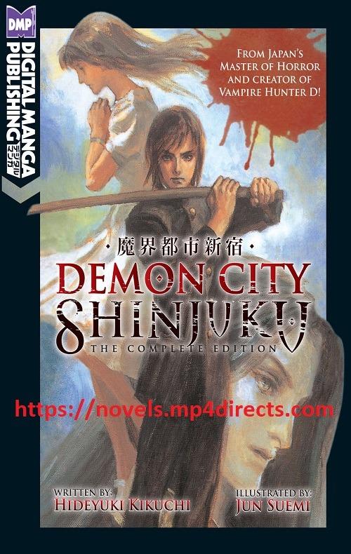 Demon City Shinjuku The Complete Edition Epub- Bahasa Indonesia Terjemahan EPUB dan PDF